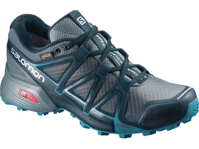 Salomon W's Speedcross Vario 2 GTX Shoes Artic/North Atlantic/Blue Bird